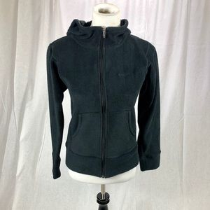 Patagonia Women's Black hooded zip up